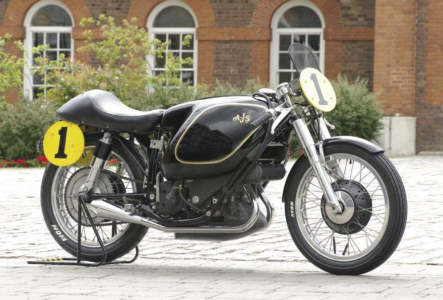 AJS E95 Porcupine technical specifications